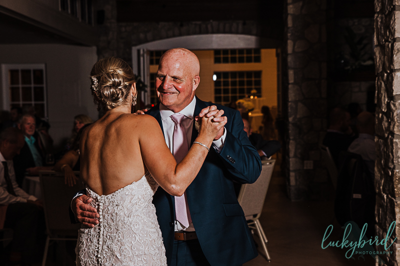 father daughter dance at gideon owen winery