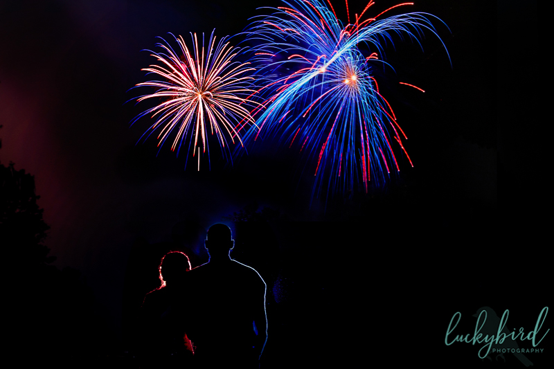 fourth of july firework photo levis commons perrysburg