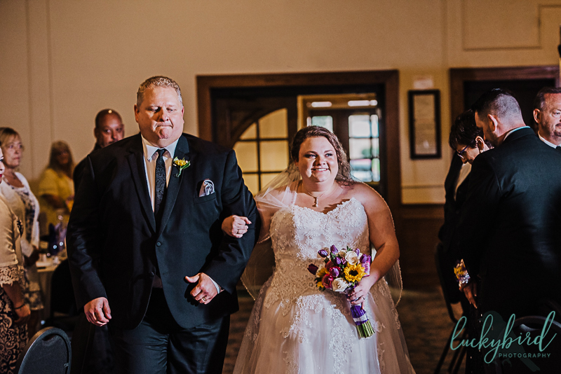 holland gardens wedding ceremony indoors