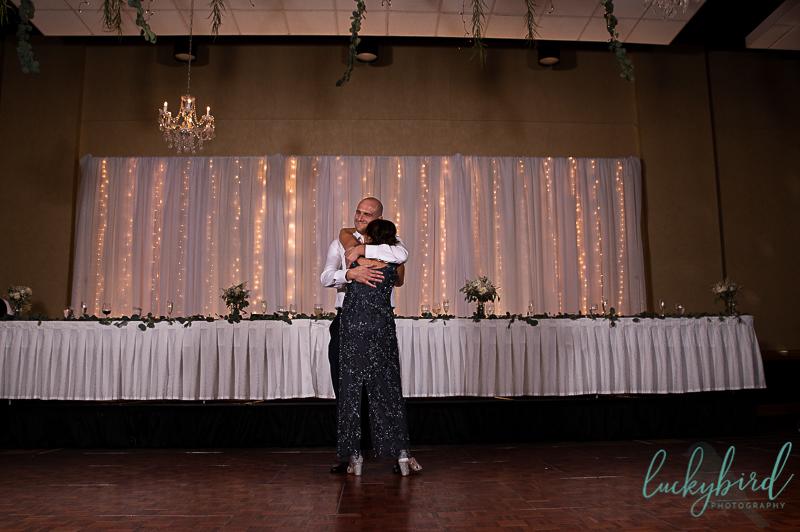 mother son dance perrysburg wedding photo