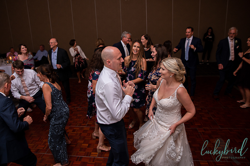 perrysburg dancing reception photo