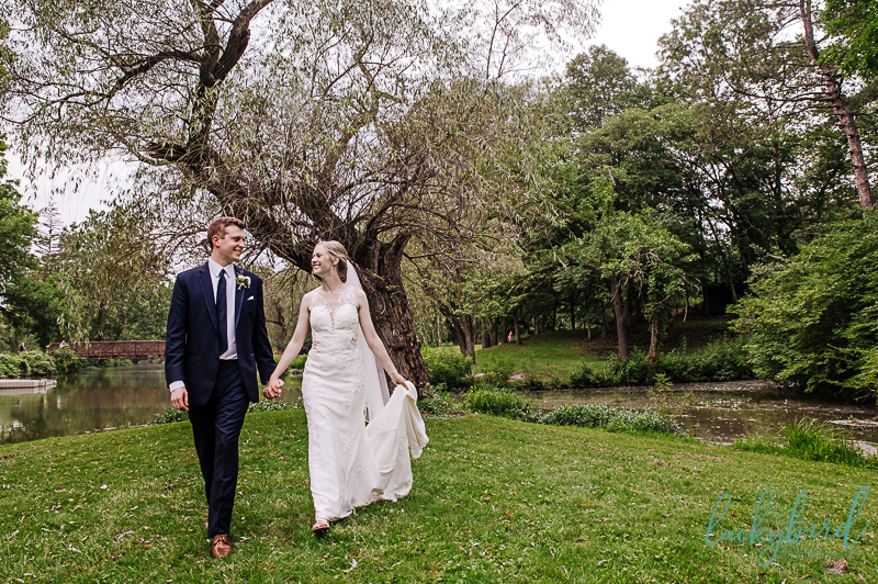 sidecut wedding photo