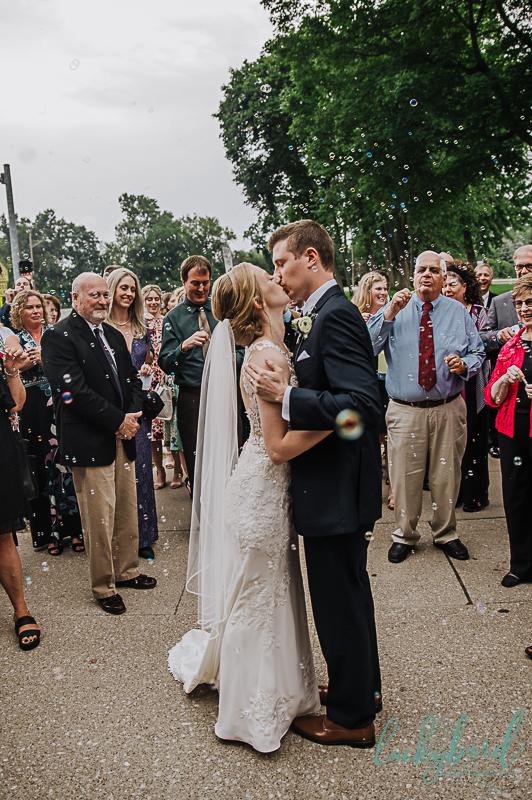 toledo wedding bubble exit