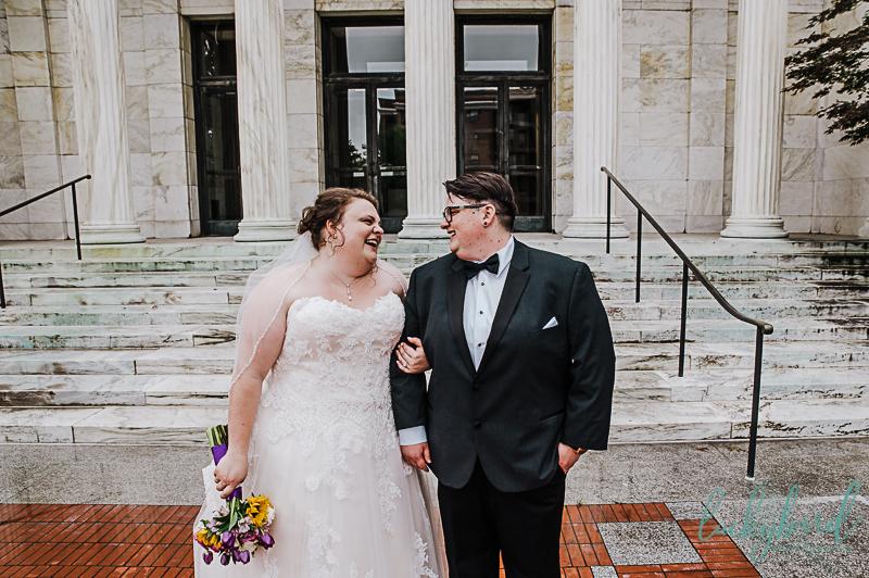 toledo wedding photos of lgbtq couple