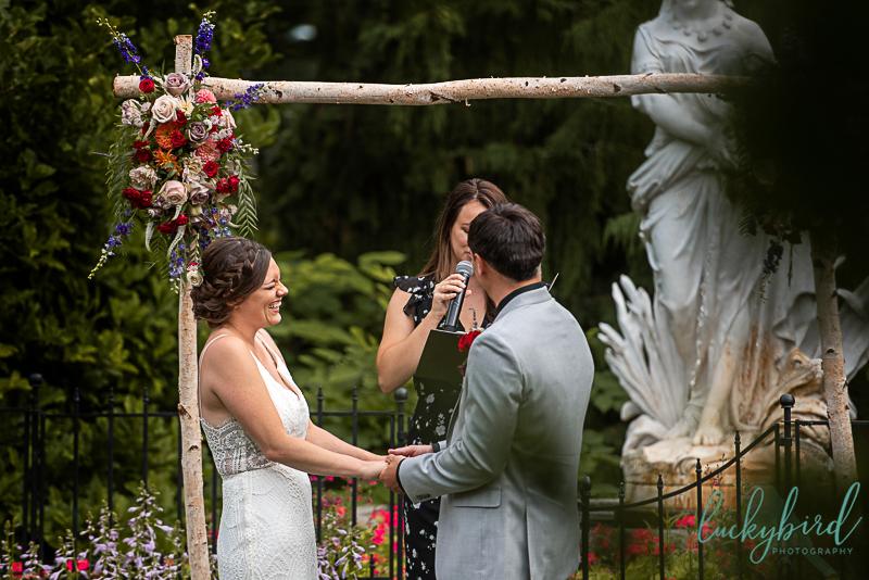 toledo zoo outdoor wedding