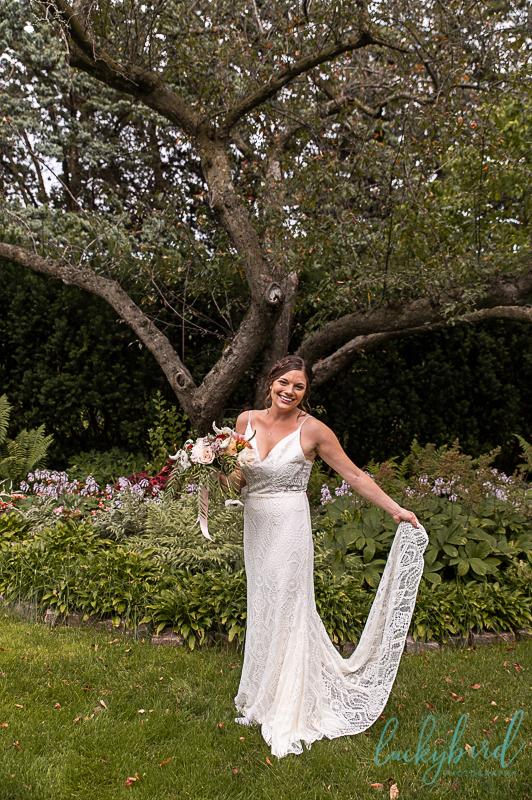 toledo zoo wedding garden photos