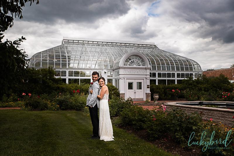 toledo zoo wedding photos