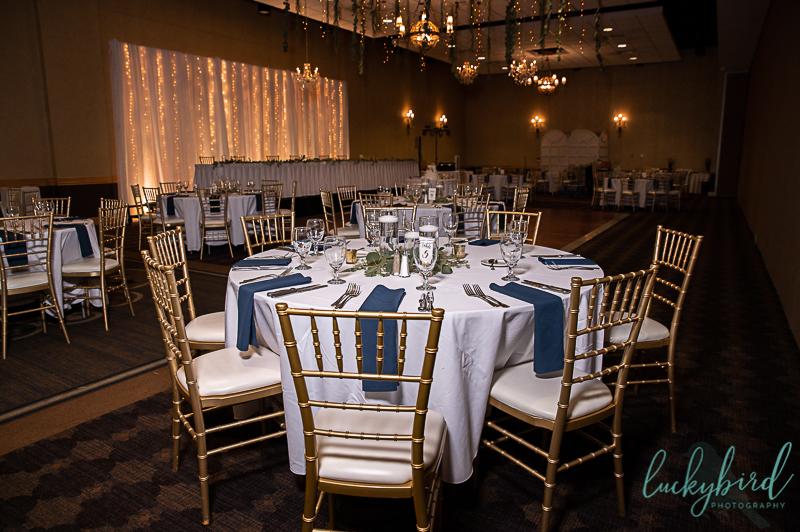 wedding reception at hilton garden inn