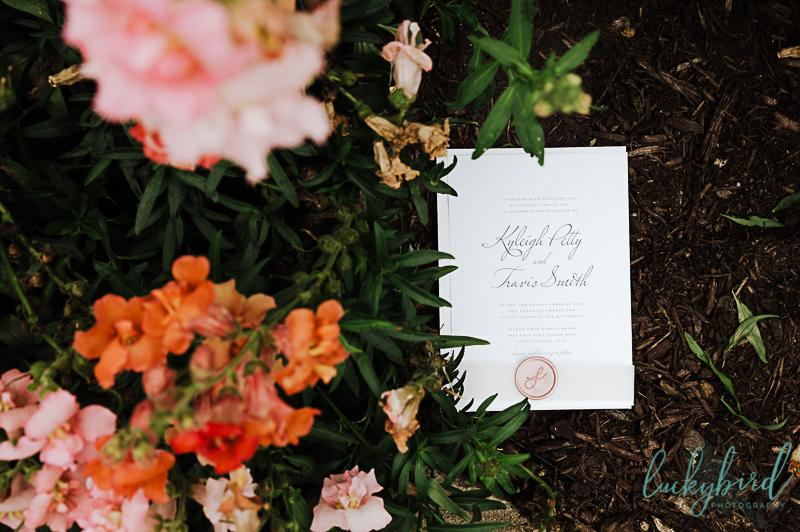 wedding stationary at gideon owen wedding
