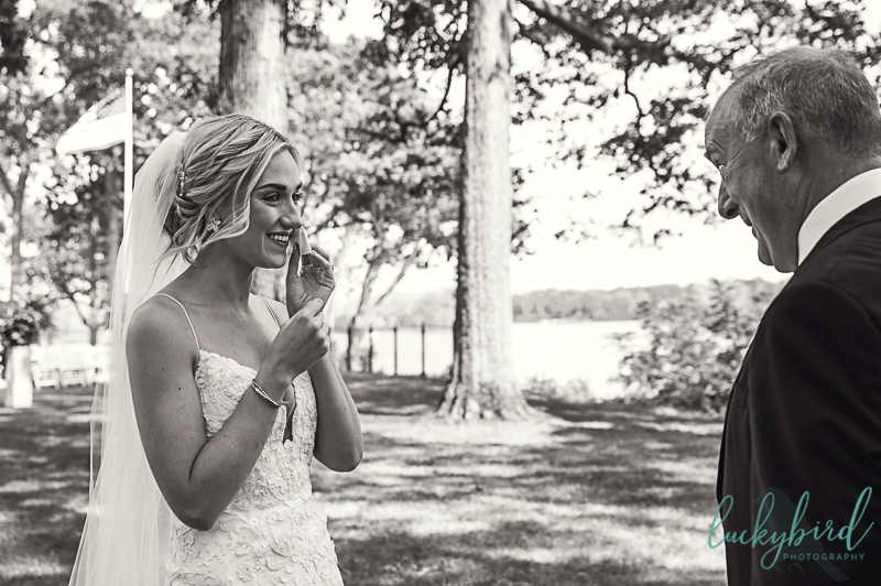 bride-crying-during-toledo-country-club-wedding