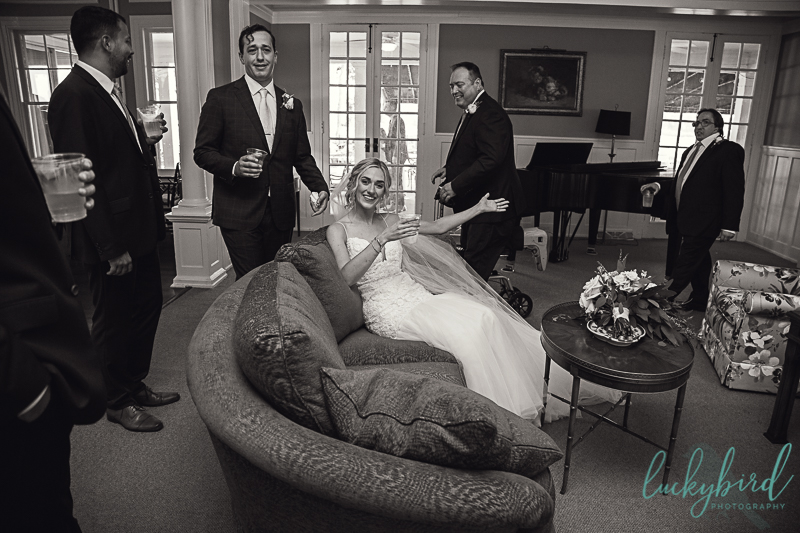 bride-relaxing-after-wedding-ceremony