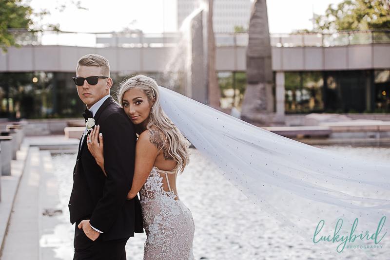 renaissance downtown toledo wedding photos