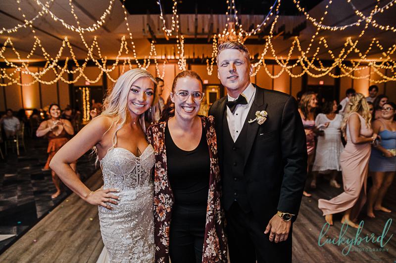 renaissance wedding couple with toledo wedding photographer luckybird photography